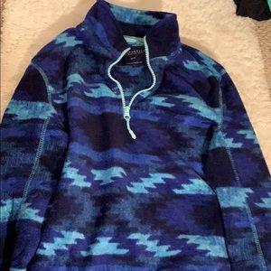 Aeropostale Blue Fleece Sweatshirt